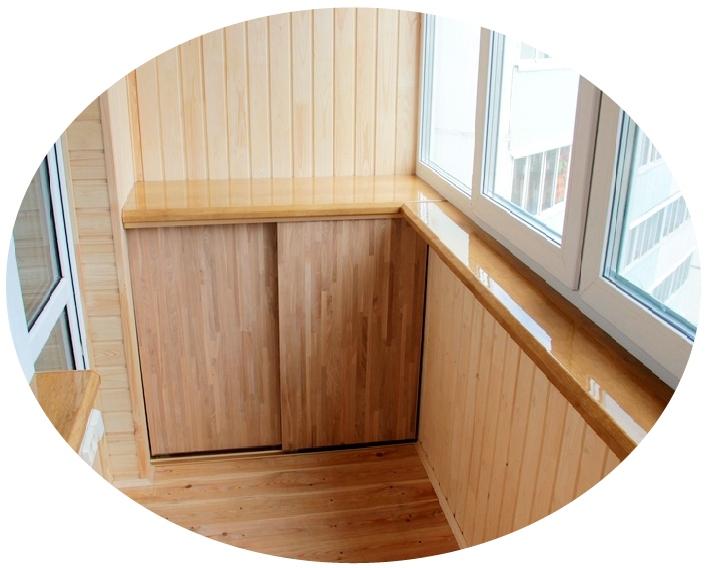 Отделка балконов и лоджий во владивостоке. новый балкон..